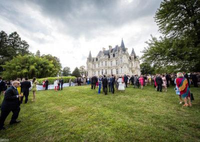 Orangerie-Réception dans le parc face au Château