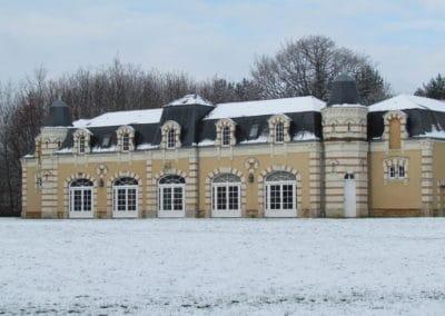 La Touchardière-Orangerie sous la neige
