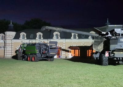 The Orangerie — Exposition de tracteur