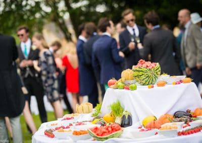 Orangerie-Buffet Fruits et légumes dans le parc