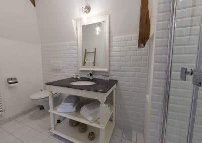 """Salle de bain-Chambre """"La Touchardière"""""""