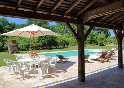 La piscine de L'Orangerie